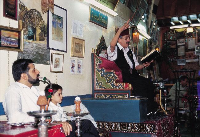 דמשק: סולימאן, כותב בקשות ומספר סיפורים