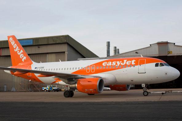 איזי ג'ט: טיסות מתל אביב לאמסטרדם