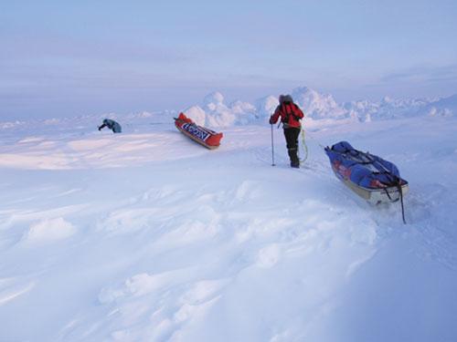 הקוטב הצפוני: הרוח נושבת קרירה