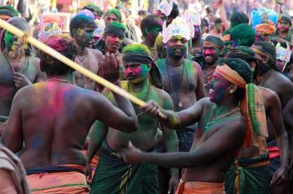 פסטיבל ההולי – חגיגה של צבעים