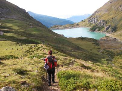 טרק סובב מטרהורן: קרחונים, אוכפים ופסגות