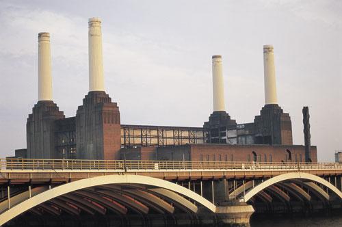 לונדון – חידוש אתרי תעשייה