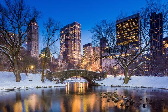 ניו יורק בחורף – המקומות הכי לוהטים