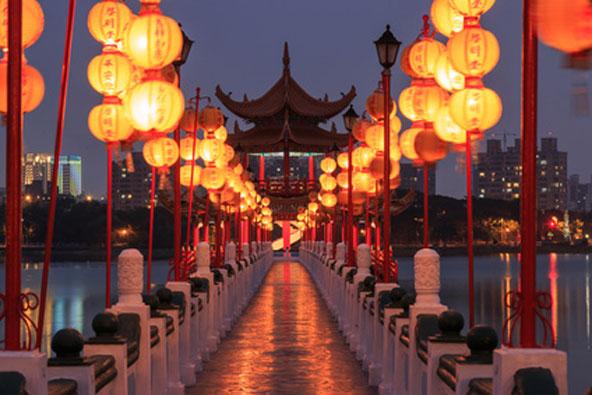 טיול בטייוואן בתקופת חג הפנסים