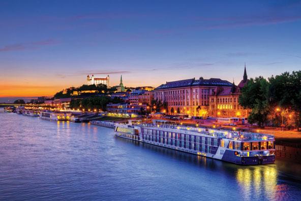 שייט חג המולד בנהרות אירופה