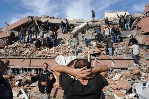 רעידת אדמה חזקה טלטלה את מזרח תורכיה