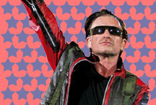 בונו ולהקת U2 במספרים