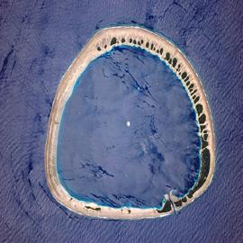 מפת טבעת האלמוגים של נוקואורו, מיקרונזיה