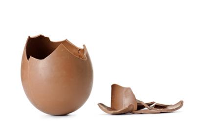 אמריקאים שחזרו מקנדה נעצרו בגלל ביצי שוקולד