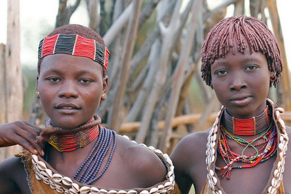 מסע ג'יפים בין שבטים באתיופיה