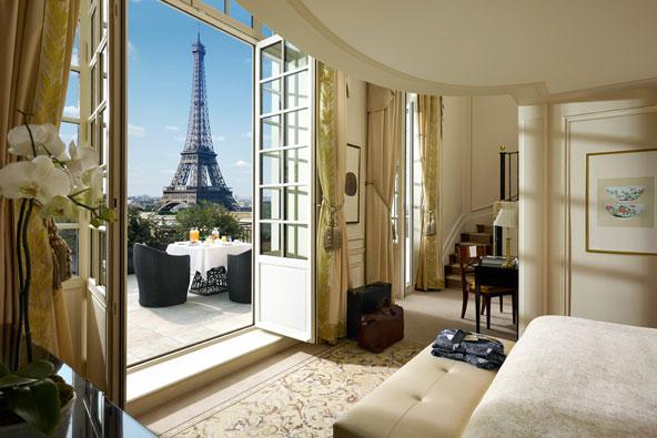 המלונות הכי רומנטיים בפריז