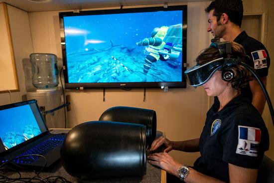 טכנולוגיה חדישה: כך טבעה ספינה צרפתית