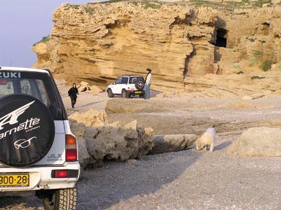 נהיגה בחופים – אוטוסטרדה בחול
