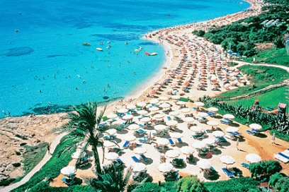 החוף המדורג הכי הטוב באירופה – איה נאפה בקפריסין