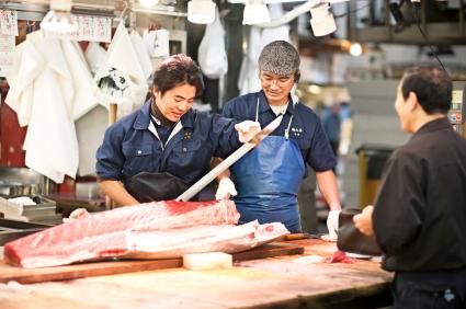 שוק הדגים צוקיג'י, טוקיו