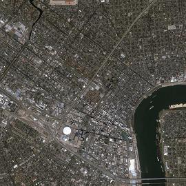 מפת ניו אורלינס, הרובע הצרפתי