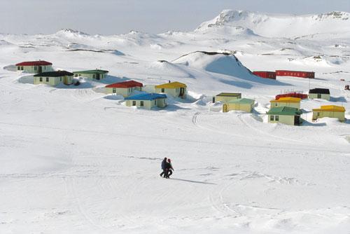 אנטארקטיקה – יומן