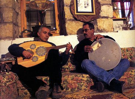 ג'ורג' סמעאן וסאלם דרוויש: מוזיקה שנובעת כמו מעיין