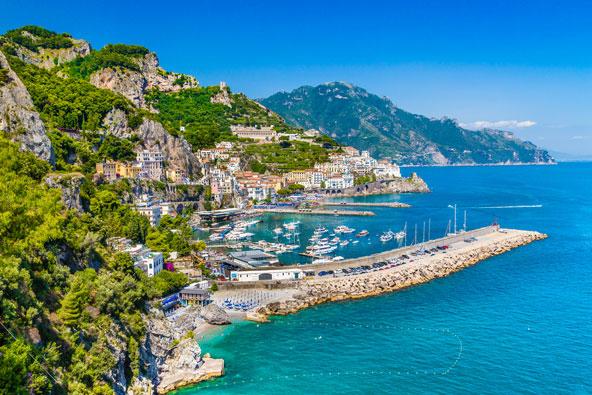 דרום איטליה – חבל קמפניה מרומא לאמלפי