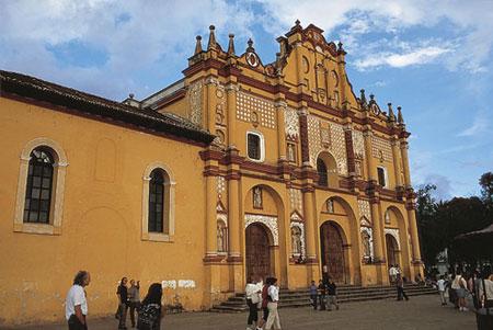 מקסיקו – אדריכלות צבעונית