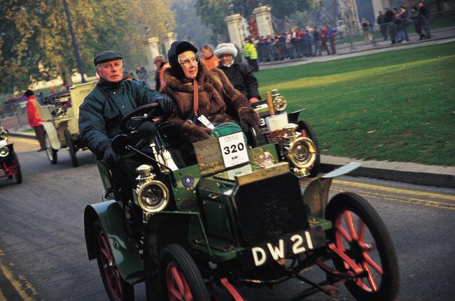 אנגליה – מירוץ מכוניות עתיקות