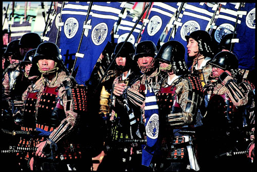 סמוראים ביפן