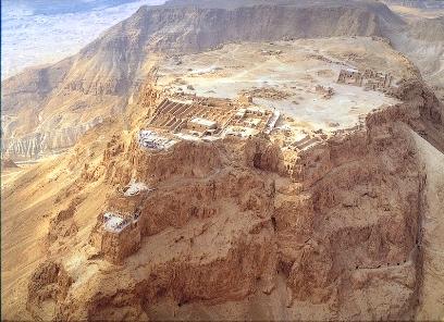 מצדה היא אתר התיירות הפופולרי בישראל