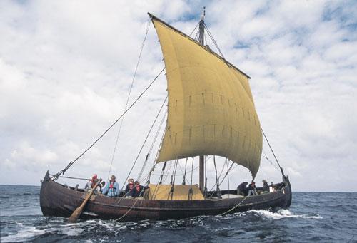 ויקינגים: סוד מפרשי הצמר