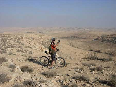 מסלול אופניים בפתחת ניצנה