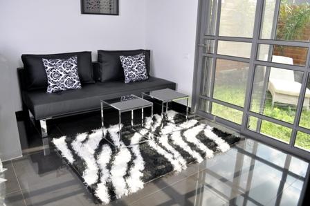 צימר Black & White: שחור לבן בצבע