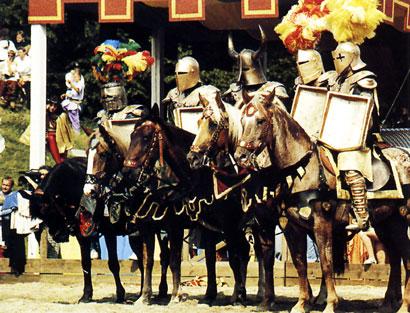 אבירים נלחמים: ימי הביניים העליזים