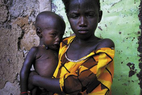 רעב באפריקה: דולר ליום