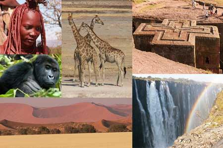 אפריקה – מידע גיאוגרפי