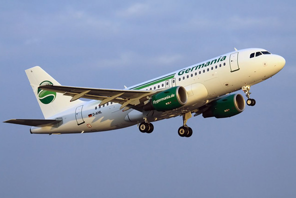 גרמניה איירליינס: טיסות מתל אביב לדיסלדורף