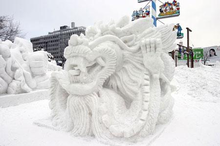 יפן – פסטיבלי חורף עירומים בשלג