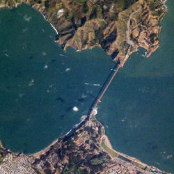 מפת גולדן גייט, סן פרנסיסקו