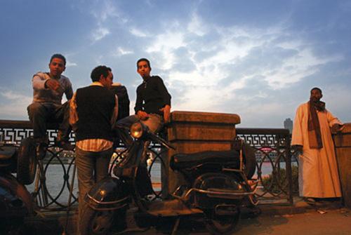 מצרים: הנינוחות מידבקת