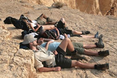שביל ישראל: חניון מצפה המכתש – מפעל אורון (מסלול 17)