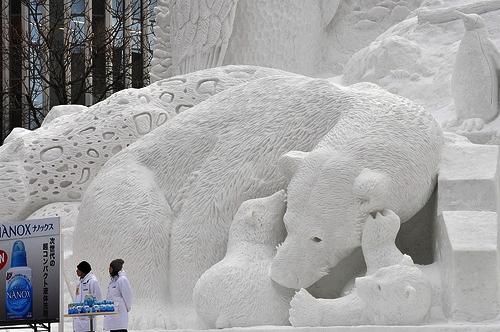 פסטיבל השלג בסאפורו