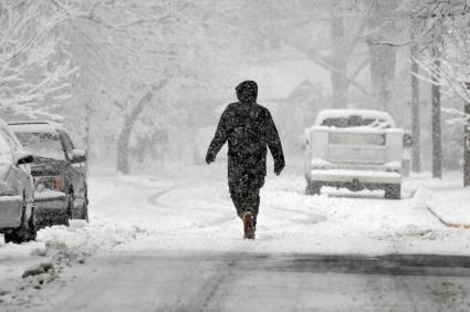 סערות שלגים משבשות את חופשות חג המולד