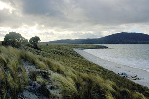טסמניה: להקיף את האי בקיאק
