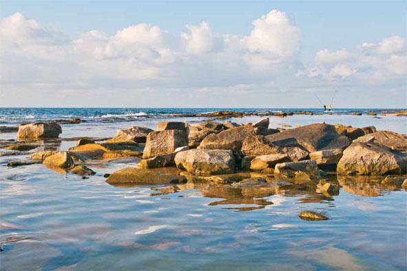 שבי ציון: טיול ליד המים