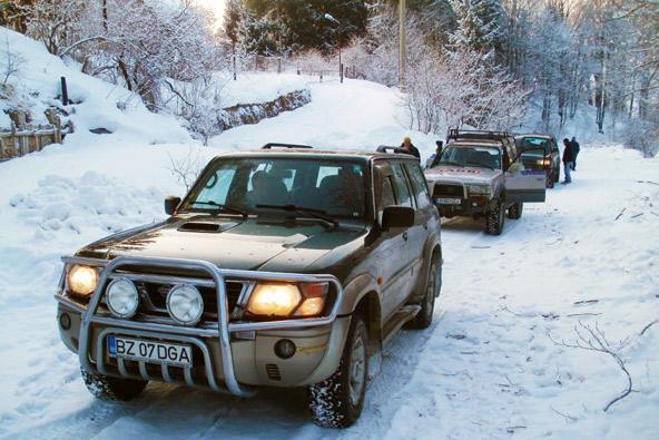 רומניה בחורף – טיול ג'יפים