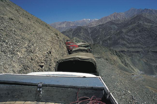 קשמיר – מלחמה בהרים