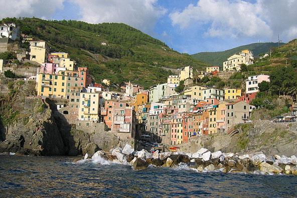צ'ינקווה טרה, צפון איטליה