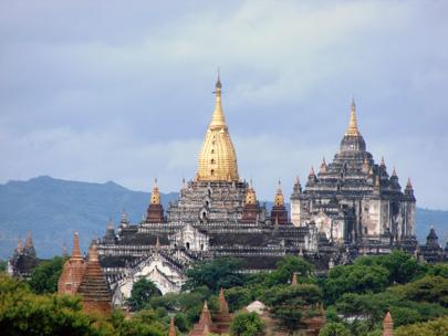 בגאן, מיאנמר – מקדשים, פגודות ונהר