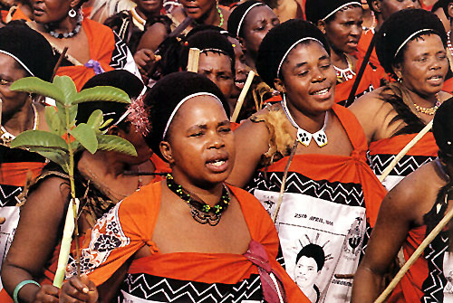 סוואזילנד: טכס ההכתרה
