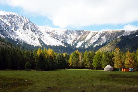 קירגיזסטן – פסגות, שווקים ונוודים