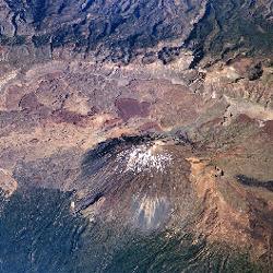 מפת האי טנריף, ספרד