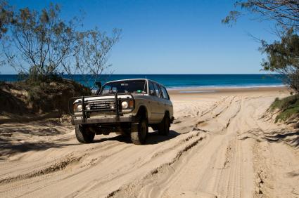 טיול שטח באי פרייזר, אוסטרליה
